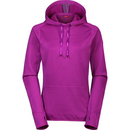 Climbing The sun has ducked behind the clouds for good, so before you tackle the face, pull on The North Face Women's Lost World Hoodie. Lightweight, stretchy, and abrasion-resistant, this pullover is tailor-made for climbing. - $37.48