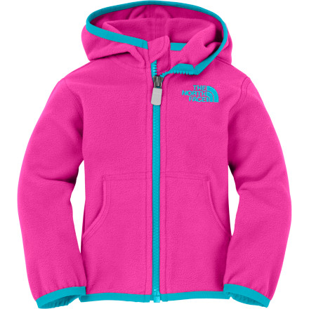 Entertainment Dress her in The North Face Infant Girls' Glacier Full-Zip Hoodie and grab your kid-carrier. Time to get a bit of fresh air and introduce your little one to fall colors. - $34.95