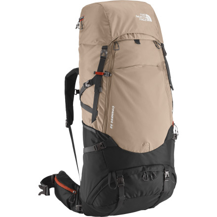 Camp and Hike The term 'home away from home' is never more true than when you're talking about your multi-day pack. The North Face Conness 82 is your fridge, your closet, your bedroom, and your house when you're in the backcountry for days. Just like your home, it's best to keep it organized so you don't waste half your time looking for stuff. That's where the Conness pockets and panel access come in to play. Unlike your house, your pack has to be comfortable to carry. That's why the Conness uses The North Face's Opti-fit X Technology and fully adjustable hip belt and harness to give you the perfect fit for the most comfort possible. - $328.95