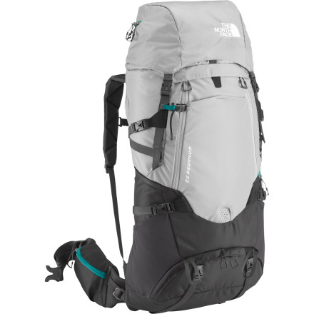 Camp and Hike You work hard all week, but when Friday rolls around you already have your The North Face Women's Conness 52 Backpack packed and ready to go. With ample space for all your needs and wants for the long weekend and an innovative suspension system, wherever you go you'll be comfortably equipped. Fit just for your torso, the women-specific pack won't feel clunky and forced. The Optifit-X suspension system keeps the pack stable and close to your body yet provides ventilating airflow for multiday comfort. Light aluminum stays keeps things stable while allowing freedom of movement, so you never feel restricted. And isn't that the point of these blissful backcountry trips' - $278.95