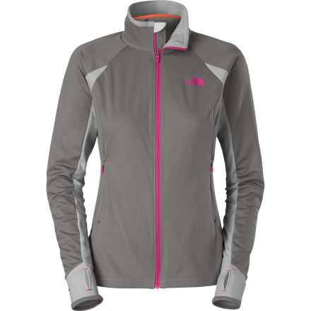 Fitness Whether you're using it as a midlayer on summer treks in variable weather, or simply pulling it on before you head out the door for an early-morning run, The North Face Women's Alpine Hybrid Full-Zip Jacket is fully equipped to keep you comfortable every which way. This lightweight, packable jacket can keep chilly winds at bay and offer a layer of warmth, while at the same time its FlashDry panels do a remarkable job of regulating your temperature and whisking away moisture when you've heading straight uphill or you're running sprints at the end of the workout. - $109.95