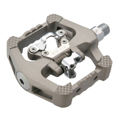 Fitness When you want a platform for riding in conventional shoes, and an SPD clip for when youre going a bit longer, thread a set of Wellgo D10 Downhill SPD Pedals on your bike and go ride. - $69.95
