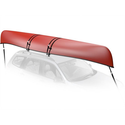 Kayak and Canoe The simple-to-install, ultra-adaptable Yakima KeelOver canoe carrier attaches to any roof rack for secure, protective transport of your beautiful boat. Right out of the box it assembles in minutes and without tools, which means by the time you decide on a destination you'll be on the road. With securing straps and tie-downs, you have all you need for a single canoe. Universal design attaches to round, square, aerodynamic, or factory bars with a single tightening knob for ease, quickness, and versatility Includes canoe securing straps and bow-stern tie-downs, everything you need for a single canoe Simple, tool-fee installation and assembly takes only minutes for instant readiness out of the box Durable over-molded rubber cushions and stabilizes the canoe gunwale Dual bolts ensure an integrated fit to vehicle Rubber padding protects your crossbars from damage or corrosion Yakima Product #8004069 - $89.10