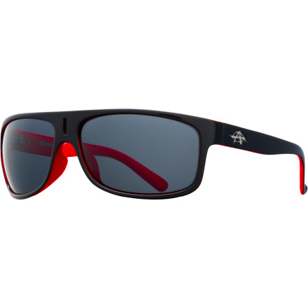 Camp and Hike Tired of getting blinded by the sun reflecting off the waves even when you have sunglasses on Cut through the glare with the Anarchy McCoy Polarized Sunglasses. The polarized lenses reduce the glare from reflective surfaces such as water and snow, and the 8-base curve wraps around your face to reduce the amount of light coming in through the sides. - $64.95
