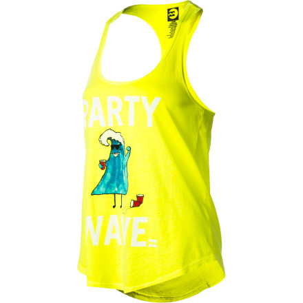 Surf Billabong Let's Party Wave Tank Top - Women's - $22.45