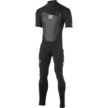 Surf More thought and testing went into the Billabong Men's 202 Foil Chest-Zip Short-Sleeve Wetsuit than you would ever guess. Designed as an entry-level suit, the 202 Foil surprises you with its comfort, durability, and longevity, so the only thing you need to focus on is popping up on your board and catching a wave. - $125.51