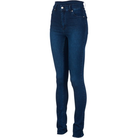 Show off your legs in the Cheap Monday Women's Second Skin Denim Pant and let the svelte, sexy stretch denim slim your silhouette and accentuate your curves in all the right places. - $59.96