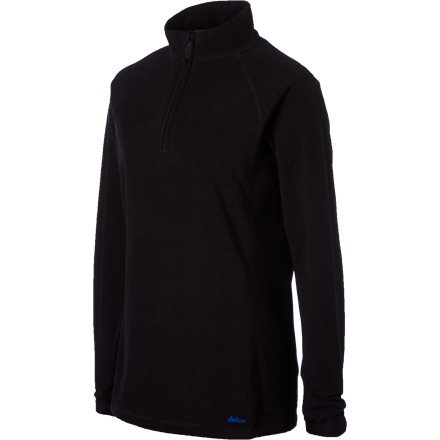 Surf When the temps dip into the teens, reach for the DAKINE Womne's Riley 1/4-Zip Top and layer it beneath your shell jacket for extra warmth and comfort while you you blaze down groomed trails. - $41.97