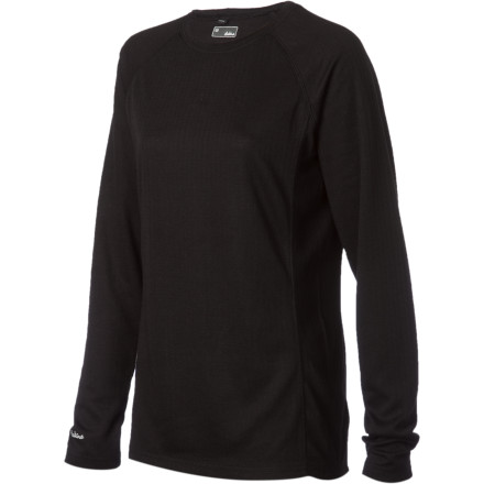 Snowboard Keep yourself wickedly comfortable with the DAKINE Women's Hayley Crew Top. This midweight baselayer boosts warmth under your mountain biking jacket, snowboarding outfit, or touring shell. - $35.96
