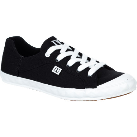 Skateboard The DC Chelsea Zero II Shoe combines a slim silhouette with classic cap-toe styling. Vulcanized construction creates a comfy, flexible feel that's the next-best thing to being barefoot. - $36.00