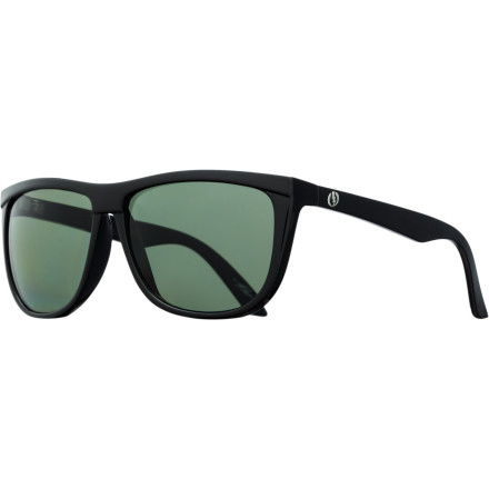 Camp and Hike The Italian-made Electric Tonette Sunglasses feature a post-modern design with just enough vintage curves to keep things interesting. - $139.95