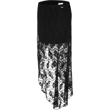 Skateboard The Element Women's Pomona Skirt has a lacy elegance that is great for nights when your love-monkey surprises you with dinner reservations at your favorite restaurant. Who knowsmaybe they'll even pick up the check this time instead trying to split it with you. - $59.45