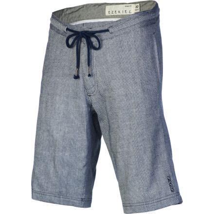 Skateboard Stay cool and comfy while skating in the heat this summer with the Ezekiel Jammer Men's Short. It has a basic slim cut with a light cotton fabric and a shoelace belt to keep your pants from falling to your ankles mid-kickflip. - $54.95
