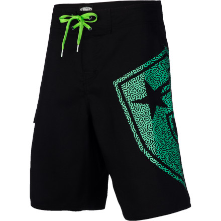 Surf Hit the beach with your bros in the Famous Stars & Straps Blast Men's Board Short. It's made with a flexible fabric that won't hold you back when you're showing off for the ladies. - $32.36