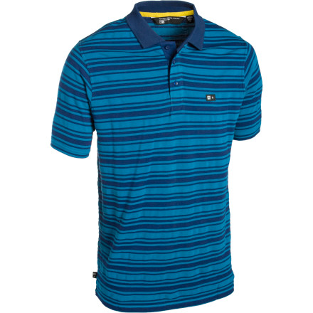 The Fourstar Madison Polo Shirt is guaranteed to increase your overall level of stripeyness by at least 105%. - $17.08