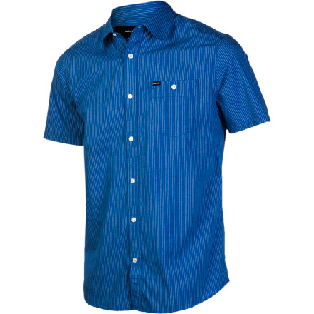 Surf Hurley Rise Stripe Shirt - Short-Sleeve - Men's - $31.47