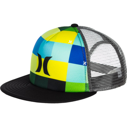 Surf Hurley Kings Road Trucker Hat - $19.76