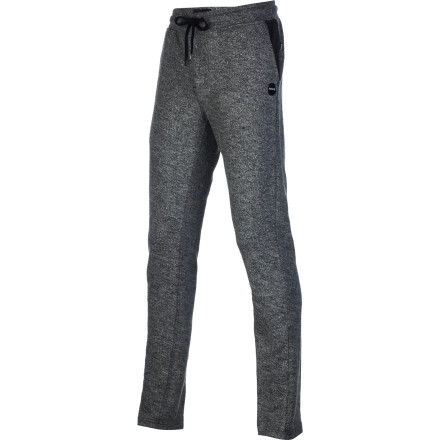 Surf The Hurley Men's Exhaust Fleece Pant are comfortable enough to make you feel like you're happily back in bed even if you're actually just happily laying on your sofa. These are the kind of pants you want to get into after a long day of work or an intense day of surfing when all you want to do is sit, drink beer, and think about how awesome your life is. - $34.65