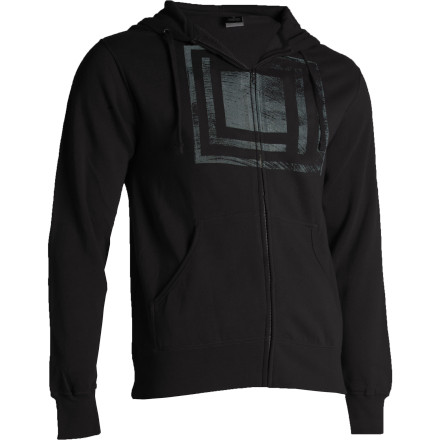 Hoodies are the comfort food of clothing. They make you feel comfortable and content, like everything is going to be great. The L1 Stamp Full-Zip Hooded Sweatshirt gives you the same cozy, at-home feeling that your favorite comfort food doesjust don't cover it in gravy. - $27.98
