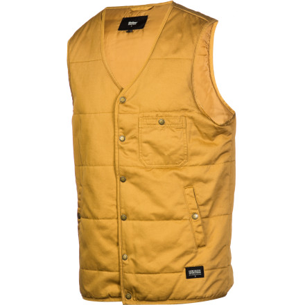 Wear the Lifetime Moss Mountain Vest over a button-down, a sweater, a long-sleeve T, or nothing at all. The first three will be stylish and attractive. The last one will be repugnant, dangerous, and will get you thrown out of any reputable eating establishment in the country. - $50.37