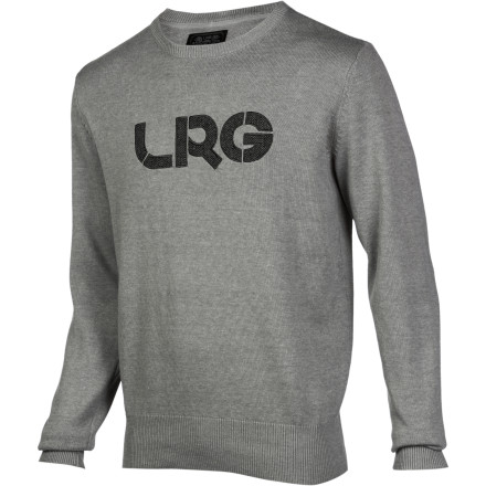 Wear the LRG Men's Survivalist Sweater when you want a versatile look that is dressed up enough to take you to work or on a first date but still relaxed enough to get you through a night at the bar. It's comfortable and cool, and all you have to is throw on a pair of jeans. - $53.17