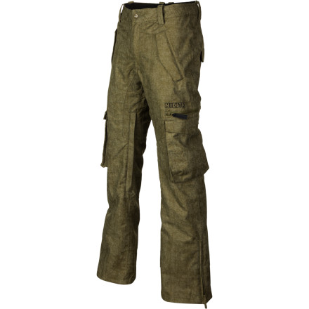 Snowboard The Nikita Women's Ozark Pant belies the notion that all cargo snowboard pants are baggy and shapeless. This pant features a figure-flattering cut that gives you room to move while looking fabulous. - $114.48