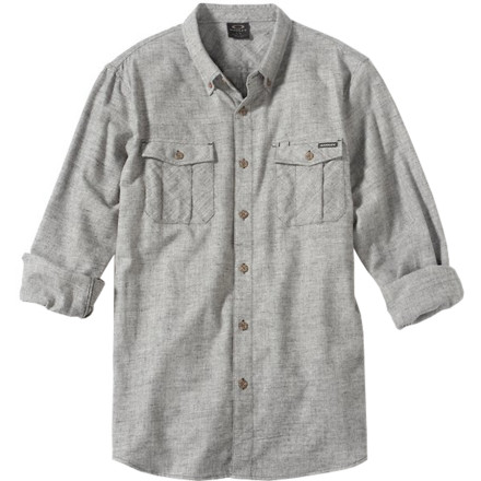 Oakley Spiracle Woven Shirt - Long-Sleeve - Men's - $60.00