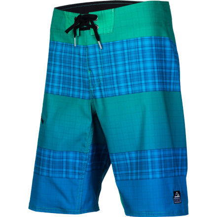 Surf Reef My Name Is Plaid Board Shorts are all about performance and comfort so once you tear up the waves in these shorts nobody will ever forget what your name is. - $69.95