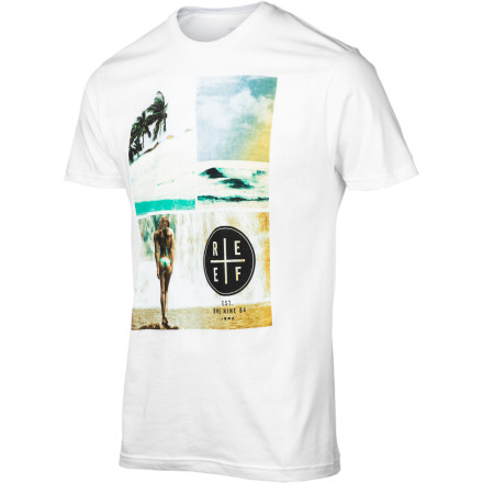 Surf Reef Girl Falls Slim T-Shirt - Short-Sleeve - Men's - $22.95