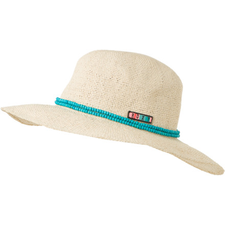 Surf Don't let your little lady's cheeks get too rosy in the sun. Have her toss on the Roxy Girls' Into the Water Sun Hat to help shield her face from the sun's dangerous rays. Its floppy fit gives her a laid-back look, while the Into The Water's double string beads band adds a touch of style. - $26.00