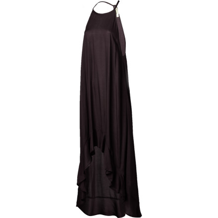 Entertainment Slipping into the the RVCA Women's Chiefdom Dress is like wearing a summer breeze. The soft fabric shifts with every movement and every breath of wind. It's a look that is relaxed and effortless. - $57.95