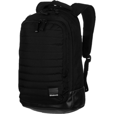 Entertainment You don't fool around. You want something simple and streamlined like the Skullcandy Coin Backpack, with ample volume for your daily essential gear and comfortable carry straps. A padded front panel adds protection for fragile stuff, and an organizer makes quick access easy. No frills, gear-hauling goodness. - $44.95