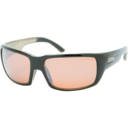 Camp and Hike Smiths Touchstone Polarchromic Sunglasses combine high-tech, distortion-free optics with clean, retro styling. - $198.95