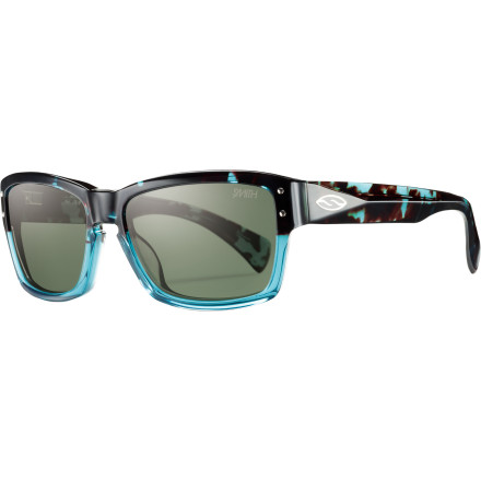 Camp and Hike You dont need a PhD to recognize the unbelievable visual clarity and throwback style of the Smith Chemist Polarized Sunglasses. These vintage shades feature handmade acetate frames and glare-crushing polarized nylon lenses for vision thats as smart as it looks. - $138.95