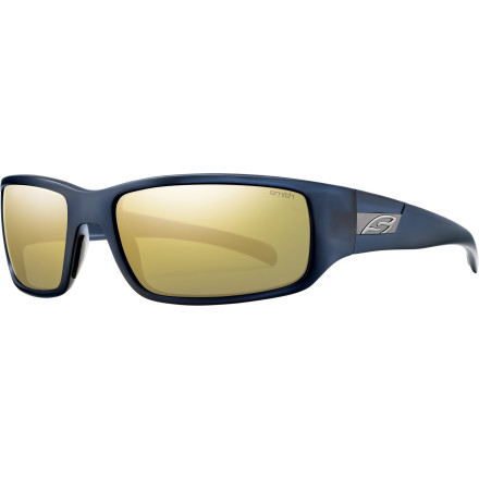 Camp and Hike The Smith Prospect Polarized Sunglasses shell out simple, classic style, but they're more than just pretty. Durable lenses and a tough frame team up with big-time comfort. - $118.95
