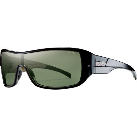 Camp and Hike The Smith Women's Stronghold Polarized Sunglasses practically drip with glamor. Slip these on when you're being thronged by the paparazzi or when you're filming your newest music video. You can let all of that high style go straight to your head too because there isn't anything phony about these quality shades. - $97.26
