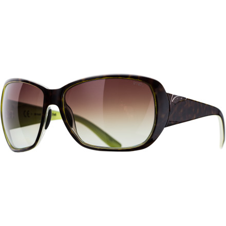 Camp and Hike Shatter-resistant, polarized, carbonic lenses, hydrophilic nose pads, and Smith's new Evolve frame material; the Hemline Sunglass has it all. And style Fuggedabaddit! - $118.95