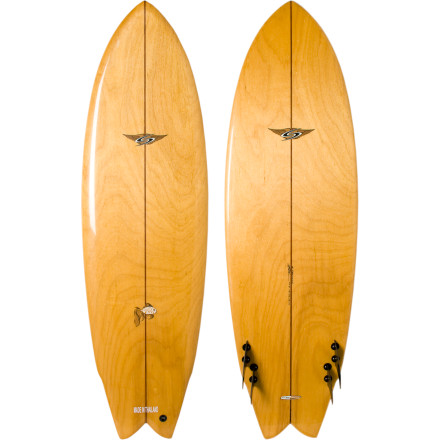 Surf Paddle out on the Surftech Quad Fish Uko Surfboard and you'll have the means to knock out the lips and guts of mild surf. This classic fish shape features a stepped-down rail behind your back foot so you can get out of turns faster and get more out of each little roller. Surftech's proprietary core offers added buoyancy and durability that you'll appreciate when you're working hard just to catch a ride before it's time to head into work. - $530.57
