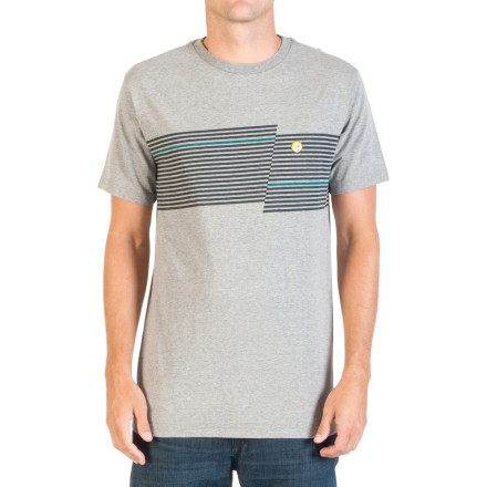 Surf Volcom Step Stripe T-Shirt - Short-Sleeve - Men's - $24.95