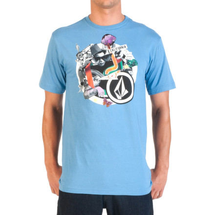 Surf Volcom Influenced T-Shirt - Short-Sleeve - Men's - $21.95