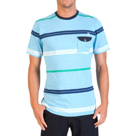 Surf Volcom Avenida Marled Pocket Crew - Short-Sleeve - Men's - $34.95