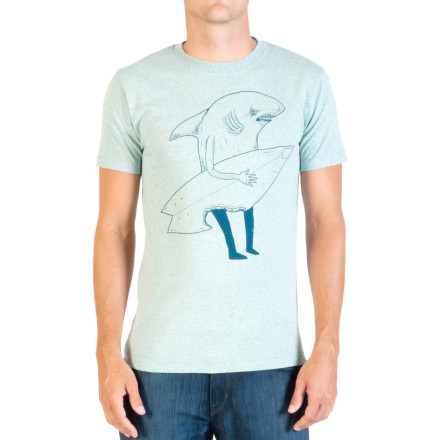 Surf Life as a cartoon artist comes with certain perks, like wearing the short-sleeve Volcom Ash FA T-Shirt while watching classic cartoons all day and calling it research. - $24.95