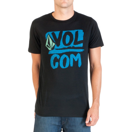 Surf Volcom Linked Up Stone Slim T-Shirt - Short-Sleeve - Men's - $26.95