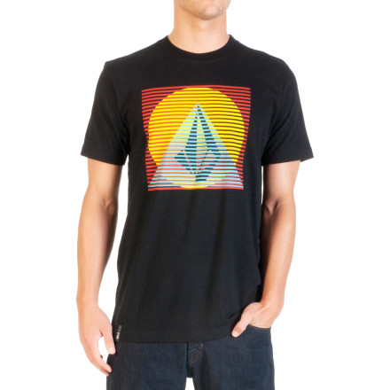 Surf Volcom Line Pyramid Slim T-Shirt - Short-Sleeve - Men's - $26.95