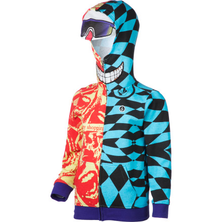 Surf Volcom Kenny Full-Zip Hoodie - Little Boys' - $64.95