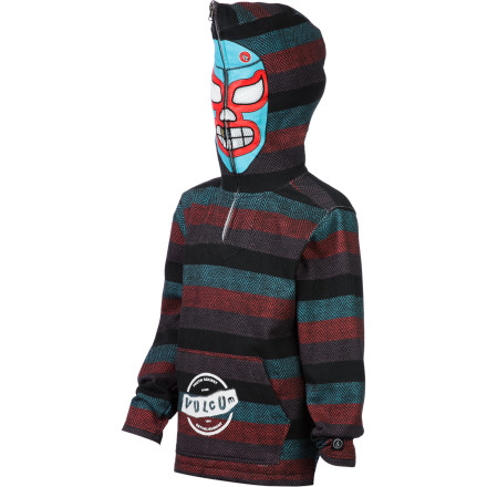 Surf Volcom El Ruggo Full-Zip Hoodie - Boys' - $69.45
