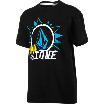 Surf Volcom Pasted T-Shirt - Short-Sleeve - Boys' - $19.95