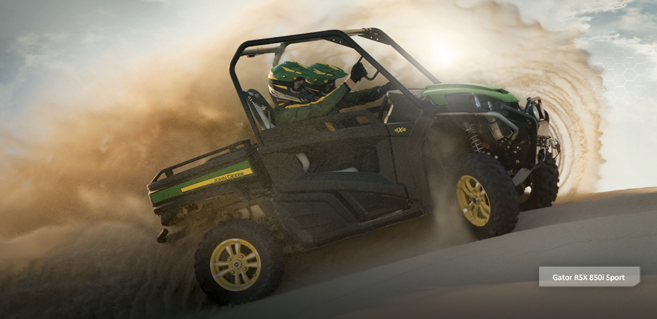 Entertainment John Deere GATOR RSX 850i