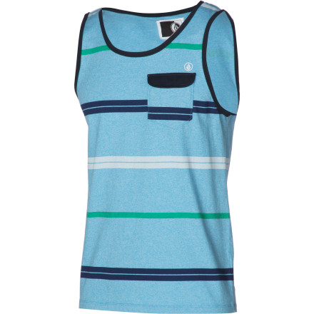 Surf Volcom Avenida Marled Pocket Tank Top - Men's - $29.45