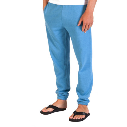 Surf The latest season of your favorite show was just added to instant streaming, so it looks like you won't be leaving the couch today. Order up a pizza and put on the soft and cozy Volcom Fillip Men's Sweat Pants, it's gonna be a long day. - $49.45